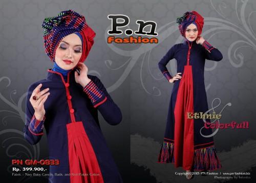 P.N Fashion Gamis 0833