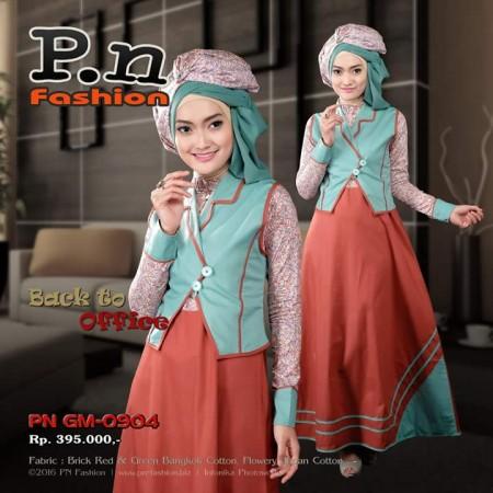 P.N FASHION gamis 0904