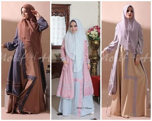 Gamis Motif Hawa Butik Sasmaya Wa 0857 2720 6282 0821 3831 9990 Hijab Fashion Store Busana Muslim Online Toko Baju Muslim Online Grosir Baju Muslim Hijab Tuneeca Sale Butiksasmaya Com
